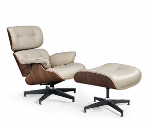 Poltrona Conjunto Charles Eames Chair - Bege